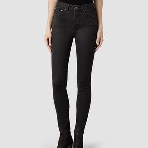 All Saints Stilt High Rise Skinny Fit Jeans 27x30